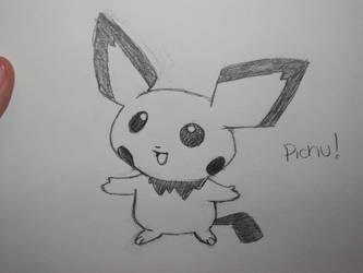 Pichu by balloons21