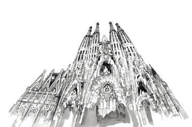Sagrada Familia 4 by paraberio