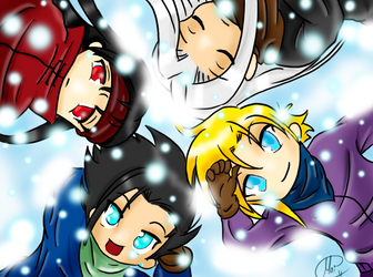 DO NOT FAV - Snow Angels by CloudStrifeClub