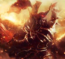 Orc Warrior by AbelVera