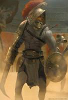 Undead Gladiators by AbelVera