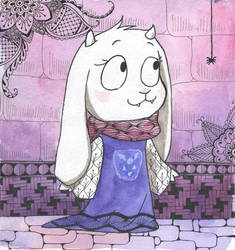 Littletale Toriel by TomoeOtohime