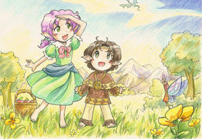 Meadow by TomoeOtohime