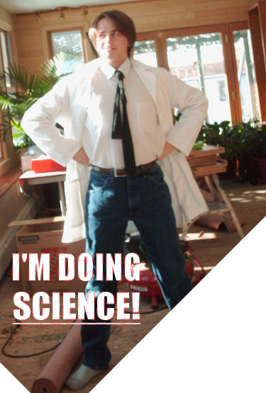 I'M DOING SCIENCE by JackEmerald