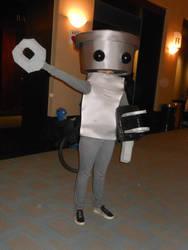 Anime Boston 2014: Chibi-Robo by JackEmerald