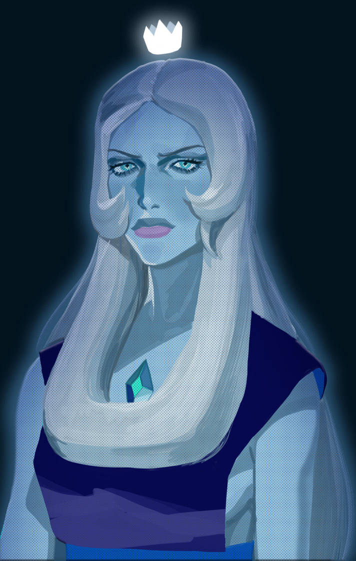 Steven universe angry blue diamond My favorite character
