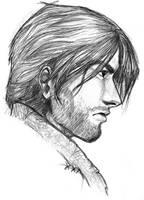Jack in Profile by FlatAsABird