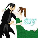 Dynasty Warriors - Zhao Yun x Qiao Yi by maryjoyg38