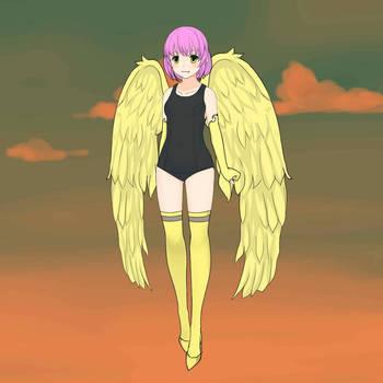 Half-Wings Half-Human - F-Zero by maryjoyg38