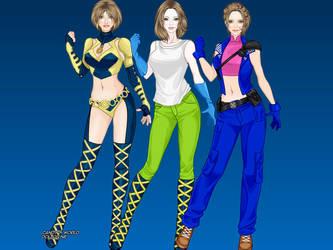Helona Ragiru - 1st, 2nd and 3rd outfits by maryjoyg38