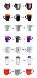 Cups from reference by b1xxx