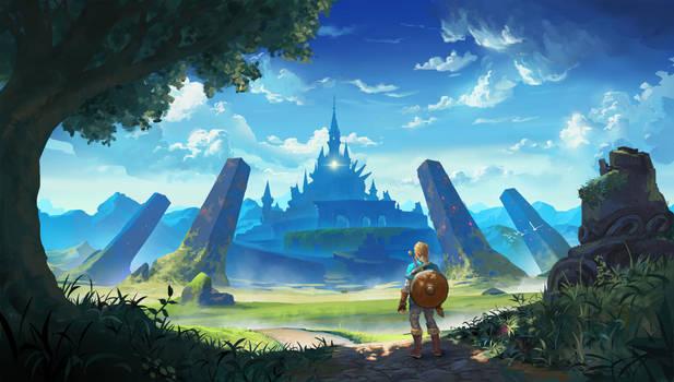 The Legend of Zelda: Breath of the Wild Fanart by fabianrensch