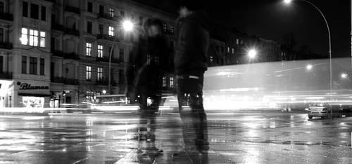 Rainy Nightlife by smoothOne