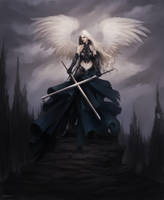 Dark Angel of Hawyn by Lucastorquato27