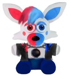 FnafGamerTV Plush (Commission) by SpringMonnie