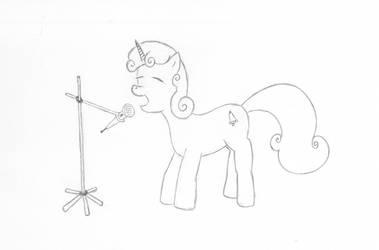 Sweetiebelle, the pony of soul by schneelocke