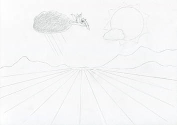 Chasin' clouds by schneelocke