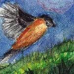 Inchie #6 Bullfinch by Colutea