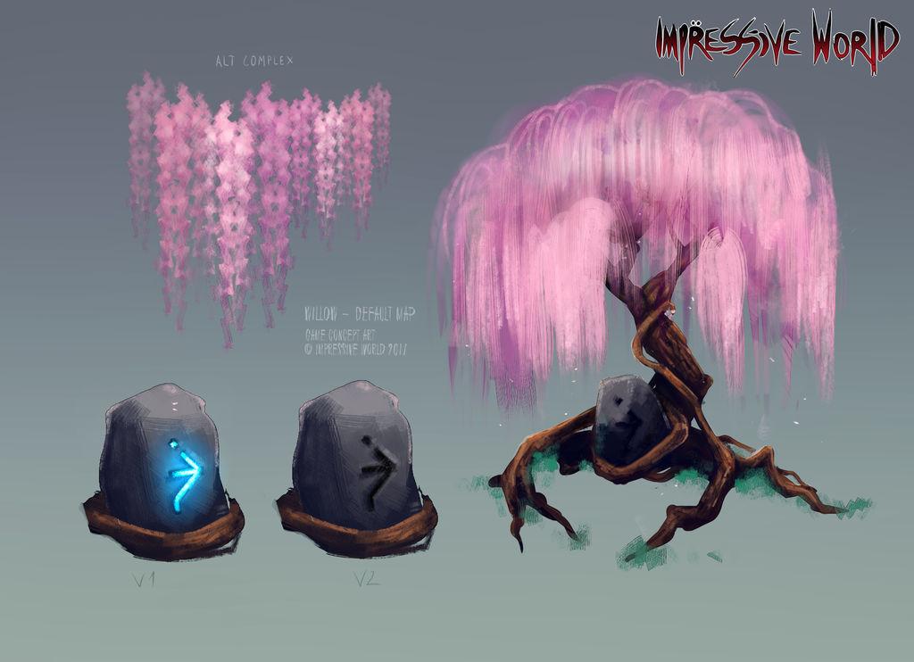 [Impressive World] Tree Concept by Vegaven