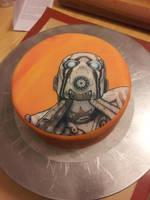 Boarderlands 2 cake by Cupcake-Killer