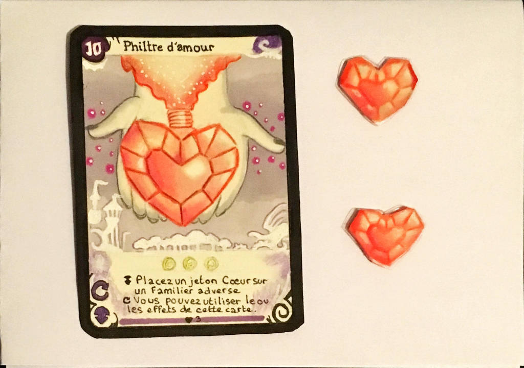 [Fan made] PHILTRE D'AMOUR- Board Game SEASONS by Chatshiki