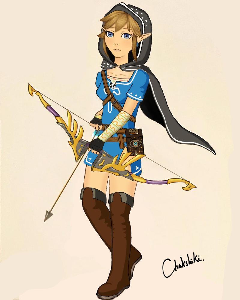 Linkle BOTW 2 by Chatshiki