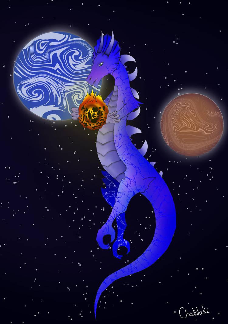 Dragon lunaire by Chatshiki