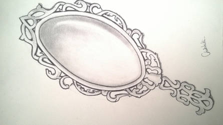 Miroir dessin by Chatshiki