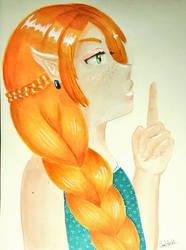 Elfe rousse by Chatshiki