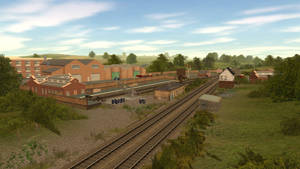A small loading depot. by SudrianAfro