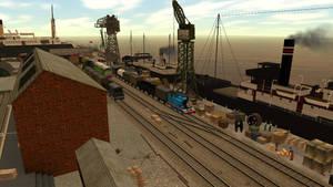 Brendam Docks by SudrianAfro
