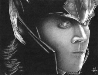 Loki by craziigiirl