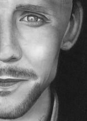 Tom Hiddleston by craziigiirl