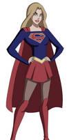 DCAU/CW: Supergirl by AMTModollas