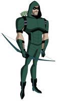DCAU/CW: Green Arrow by AMTModollas