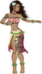 Street Fighter OC: Alaula by AMTModollas