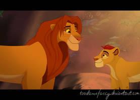 The Lion Guard Screenshot Redraw by toodamnfancy
