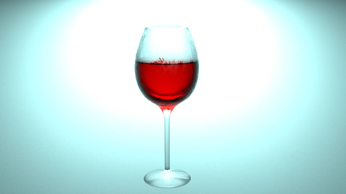 Verre vin by 4dry1