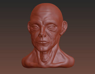 sculpt exercice on blender by 4dry1