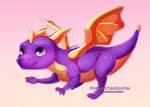 Purple boi (Spyro) by Olessan