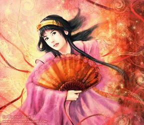 Geisha Fan by Deepsies