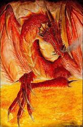 Hell Dragon by king666kill