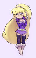 Pacifica is unamused by Evil-Count-Proteus