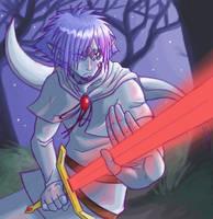 Chimera swordsman by J-e-J-e