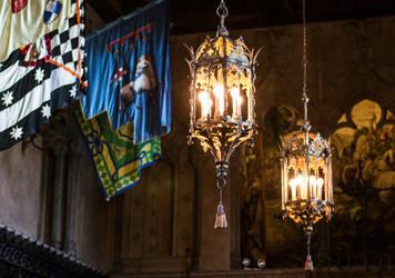 lanterns in the dark by pungen