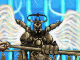 Archangel of Valor by DeckyV