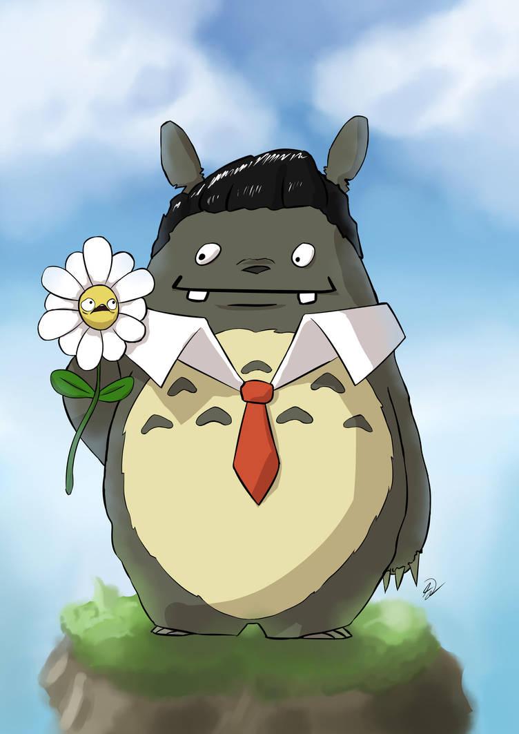 Totoro, Elvis, Ich bin eine Biene - Crossover by NaiBuff
