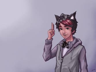 The Anime Man - Fanart by NaiBuff