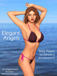 Emma: Elegant Angels Pose Pack Promo by Foxy-3D