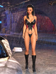 Raina: Wet With Desire - Scene 1 Alt Angle by Foxy-3D